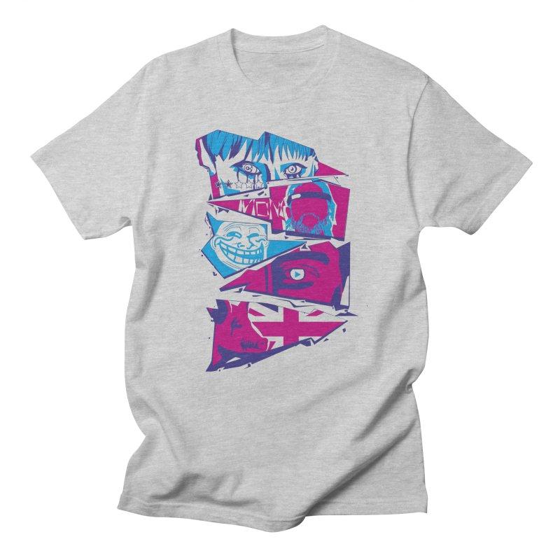Black Mirror Women's Regular Unisex T-Shirt by quadrin's Artist Shop