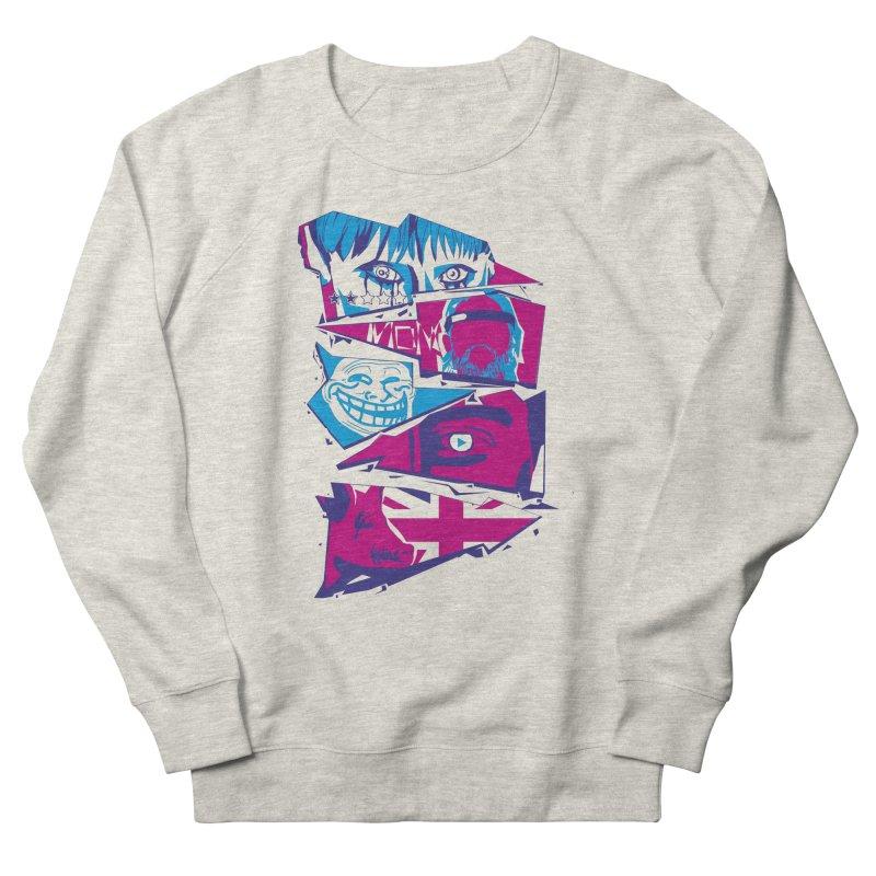 Black Mirror Women's French Terry Sweatshirt by quadrin's Artist Shop