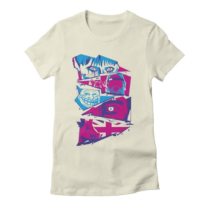 Black Mirror Women's T-Shirt by quadrin's Artist Shop