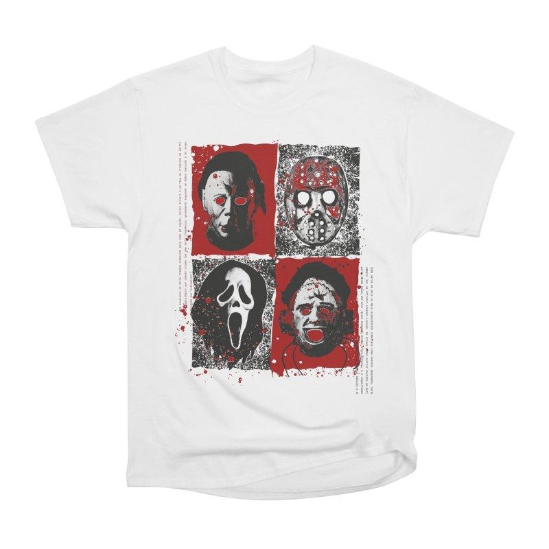 Serial Killers Women's Heavyweight Unisex T-Shirt by quadrin's Artist Shop