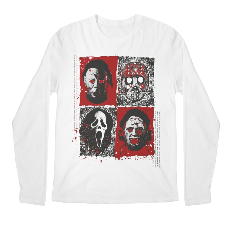 Serial Killers Men's Regular Longsleeve T-Shirt by quadrin's Artist Shop