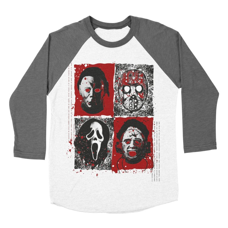 Serial Killers Men's Baseball Triblend Longsleeve T-Shirt by quadrin's Artist Shop