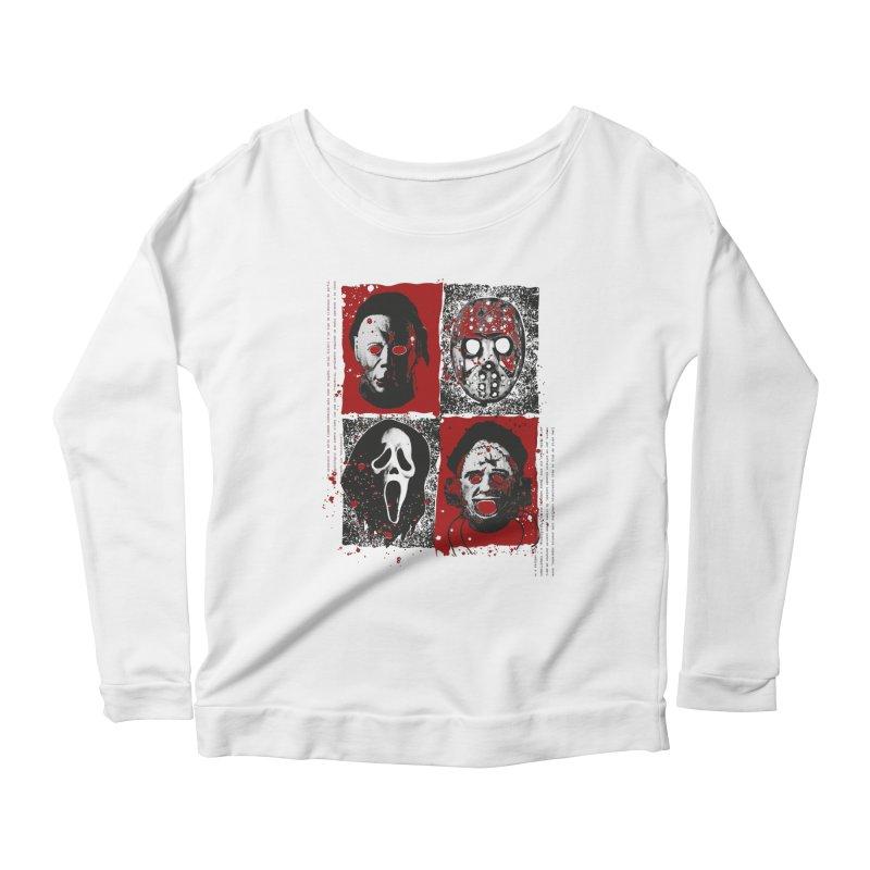 Serial Killers Women's Scoop Neck Longsleeve T-Shirt by quadrin's Artist Shop