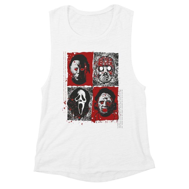 Serial Killers Women's Muscle Tank by quadrin's Artist Shop