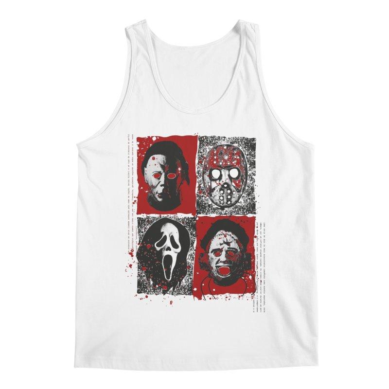 Serial Killers Men's Regular Tank by quadrin's Artist Shop