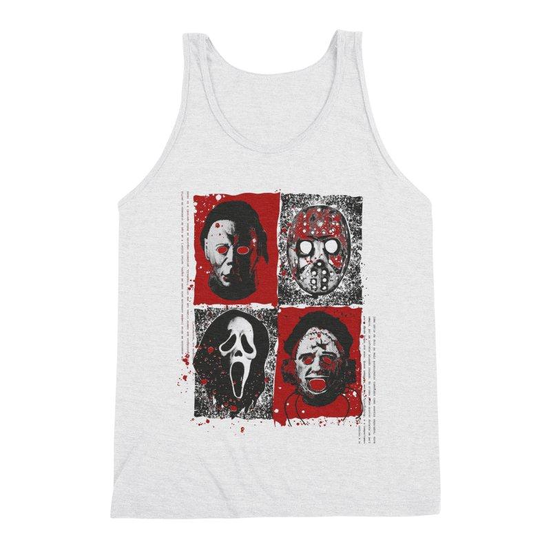 Serial Killers Men's Triblend Tank by quadrin's Artist Shop