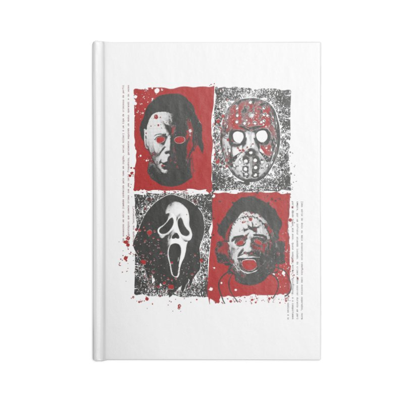 Serial Killers Accessories Blank Journal Notebook by quadrin's Artist Shop