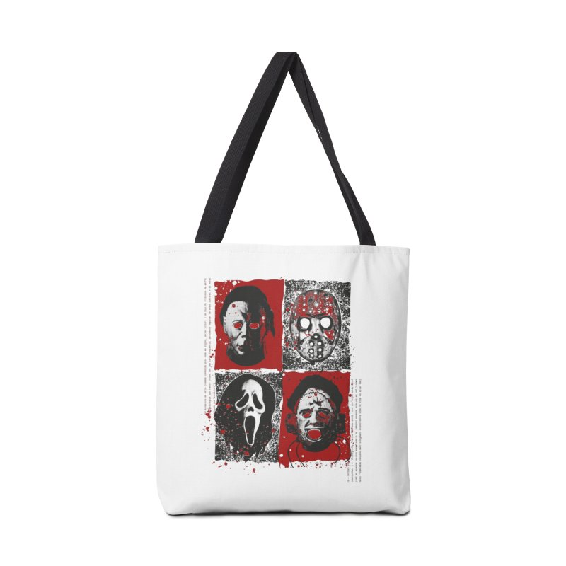 Serial Killers Accessories Tote Bag Bag by quadrin's Artist Shop