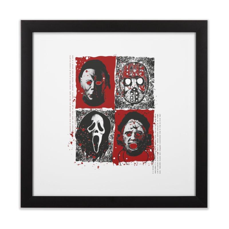Serial Killers Home Framed Fine Art Print by quadrin's Artist Shop