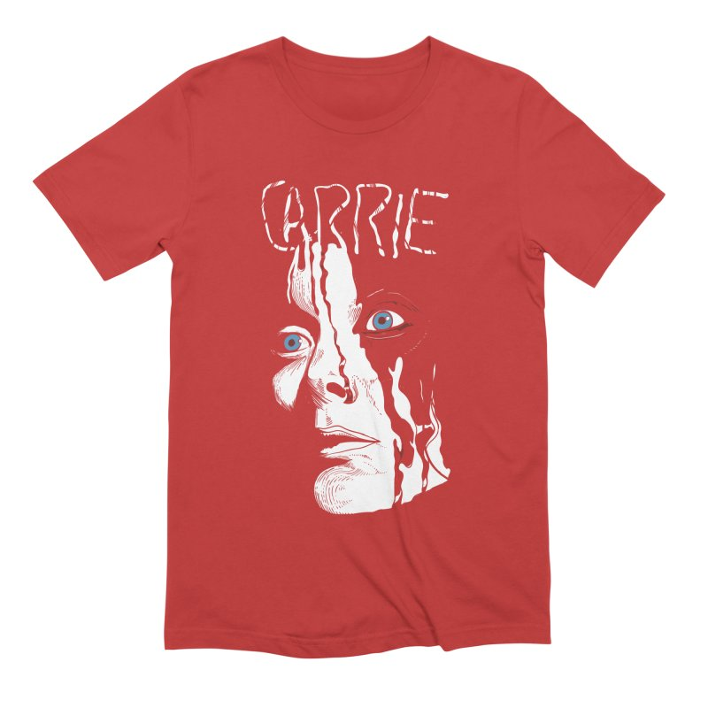 Carrie Men's Extra Soft T-Shirt by quadrin's Artist Shop