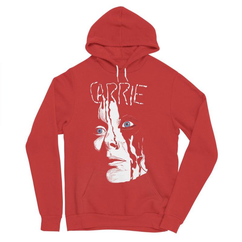 Carrie Men's Sponge Fleece Pullover Hoody by quadrin's Artist Shop