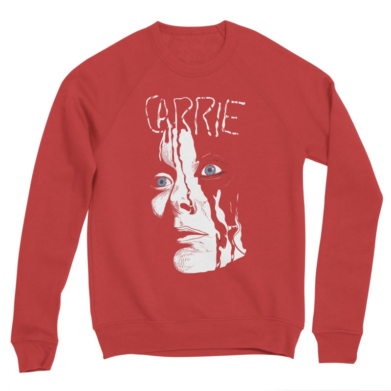 Carrie Men's Sponge Fleece Sweatshirt by quadrin's Artist Shop