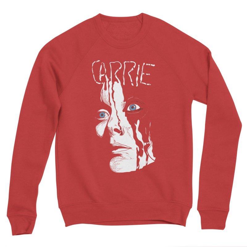 Carrie Women's Sponge Fleece Sweatshirt by quadrin's Artist Shop