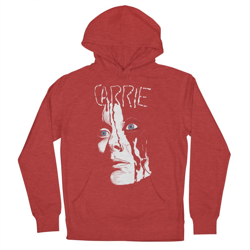 Carrie Men's French Terry Pullover Hoody by quadrin's Artist Shop