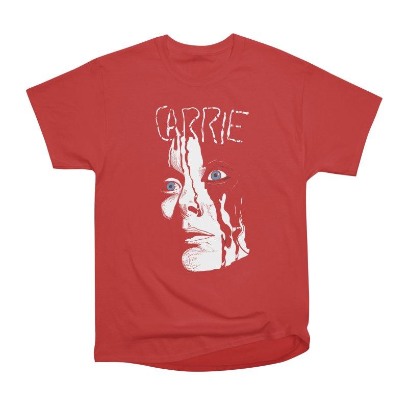 Carrie Women's Heavyweight Unisex T-Shirt by quadrin's Artist Shop