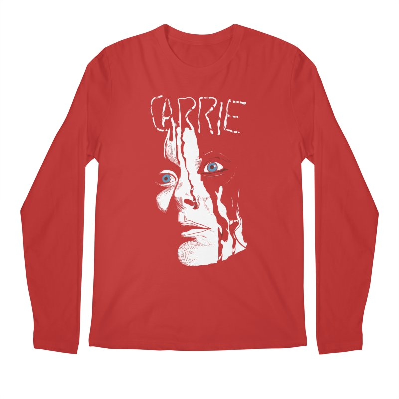 Carrie Men's Regular Longsleeve T-Shirt by quadrin's Artist Shop