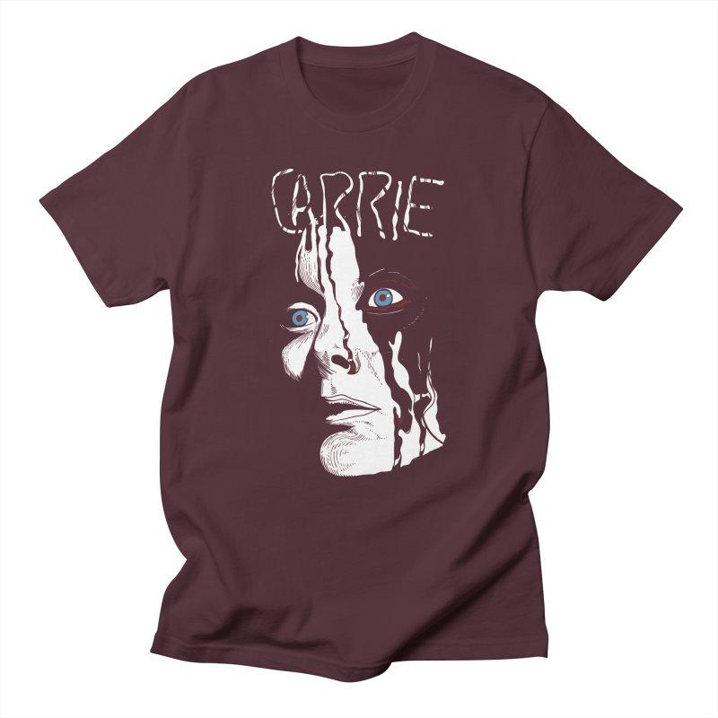 Carrie Men's Regular T-Shirt by quadrin's Artist Shop