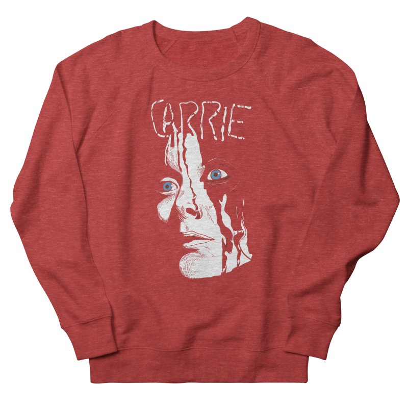 Carrie Men's French Terry Sweatshirt by quadrin's Artist Shop