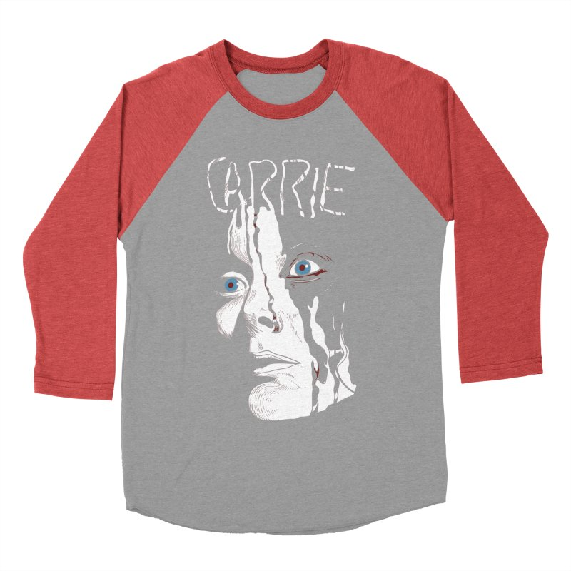 Carrie Women's Baseball Triblend Longsleeve T-Shirt by quadrin's Artist Shop