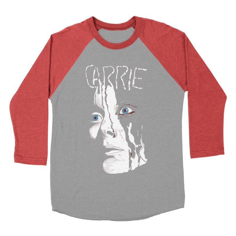 Carrie Men's Baseball Triblend Longsleeve T-Shirt by quadrin's Artist Shop