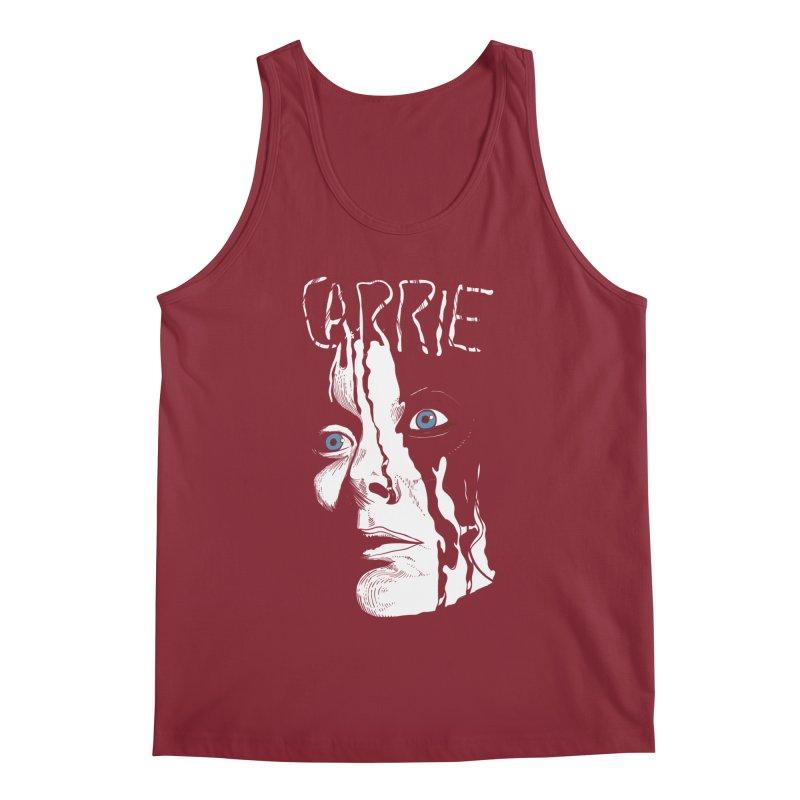 Carrie Men's Regular Tank by quadrin's Artist Shop