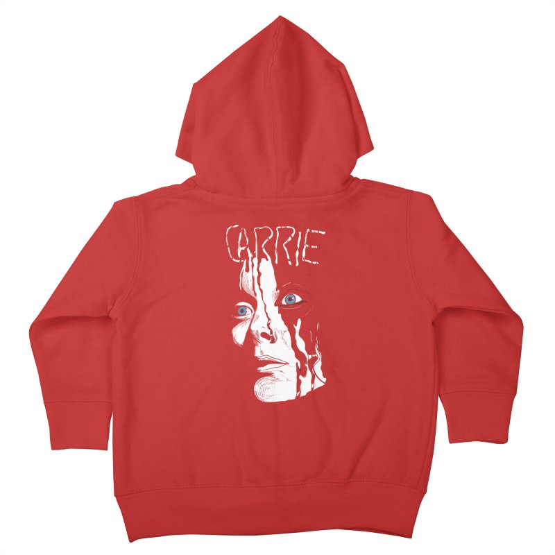 Carrie Kids Toddler Zip-Up Hoody by quadrin's Artist Shop
