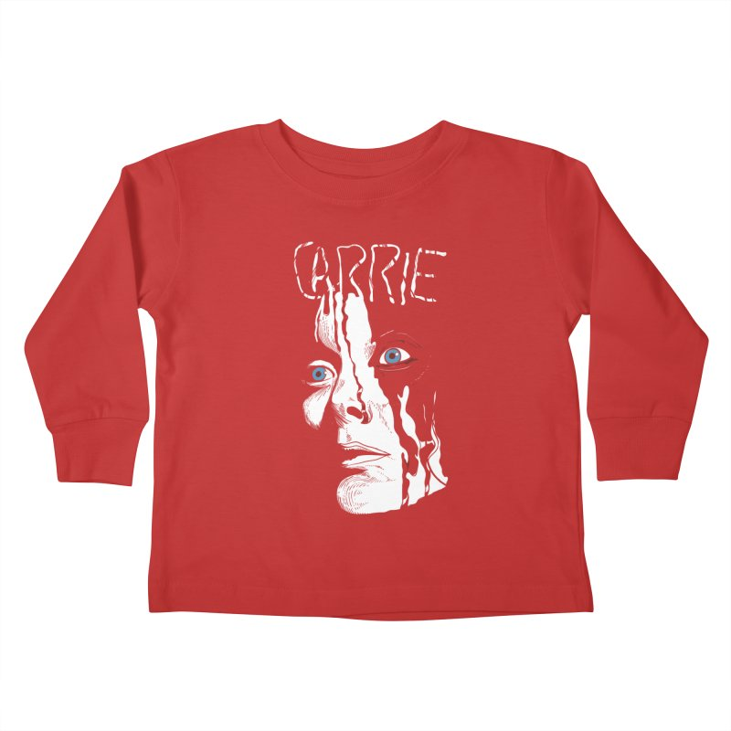 Carrie Kids Toddler Longsleeve T-Shirt by quadrin's Artist Shop