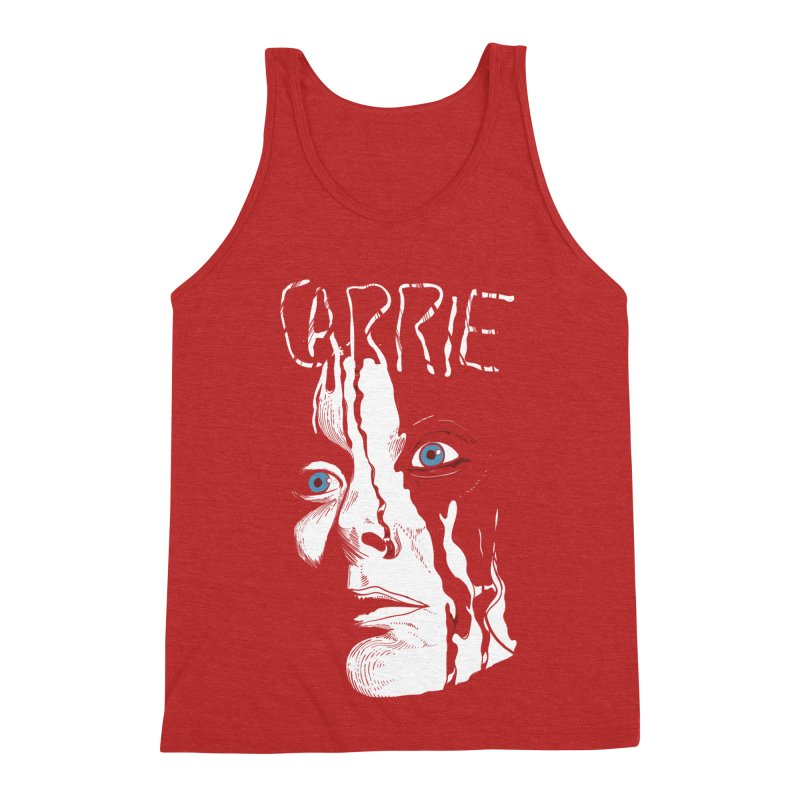 Carrie Men's Triblend Tank by quadrin's Artist Shop