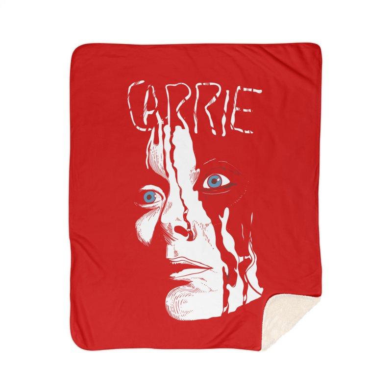 Carrie Home Sherpa Blanket Blanket by quadrin's Artist Shop