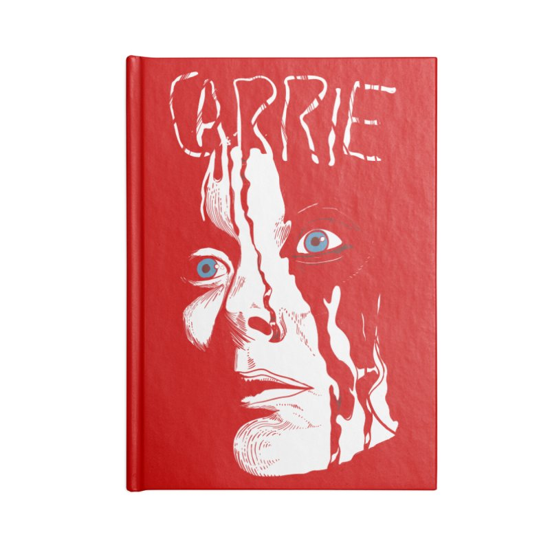 Carrie Accessories Lined Journal Notebook by quadrin's Artist Shop