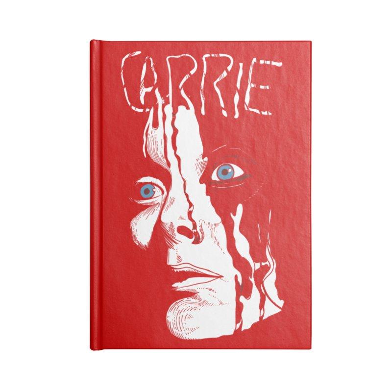 Carrie Accessories Blank Journal Notebook by quadrin's Artist Shop
