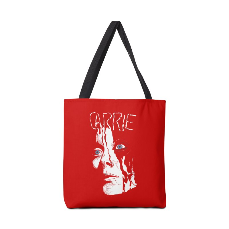 Carrie Accessories Tote Bag Bag by quadrin's Artist Shop