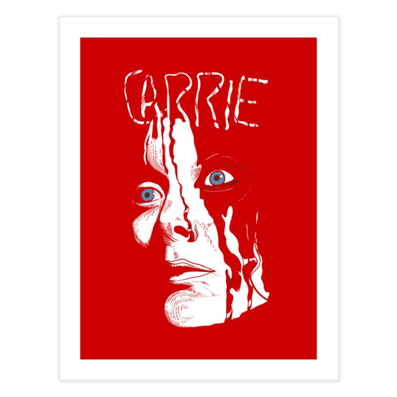 Carrie Home Fine Art Print by quadrin's Artist Shop