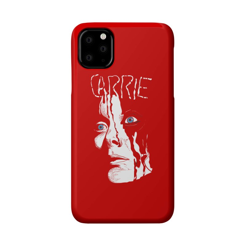 Carrie Accessories Phone Case by quadrin's Artist Shop