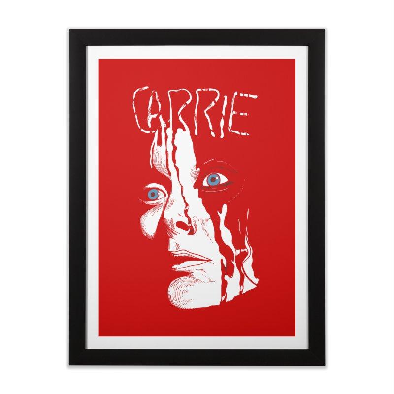 Carrie Home Framed Fine Art Print by quadrin's Artist Shop