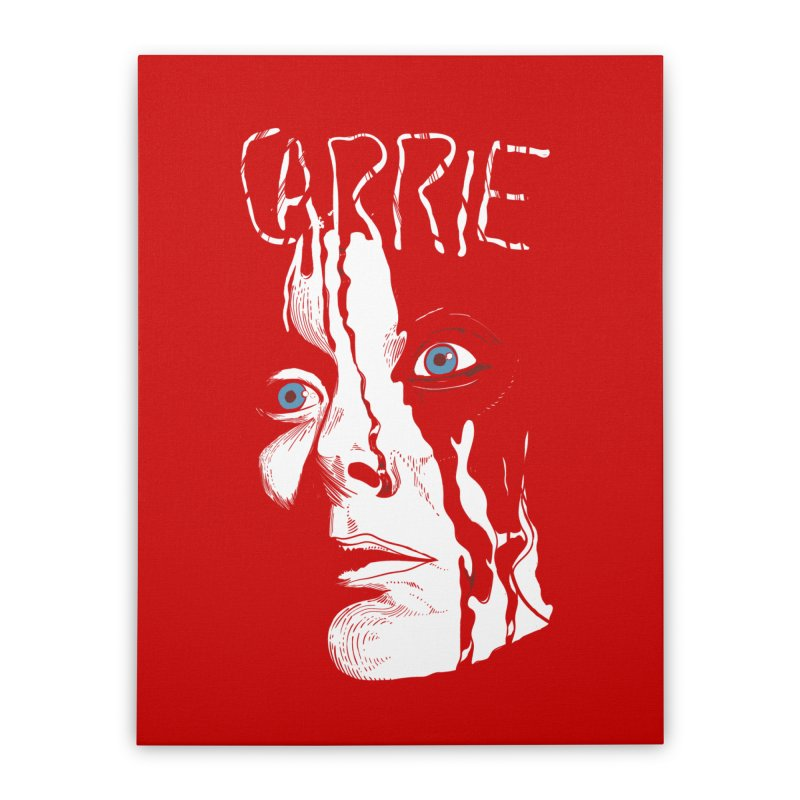 Carrie Home Stretched Canvas by quadrin's Artist Shop