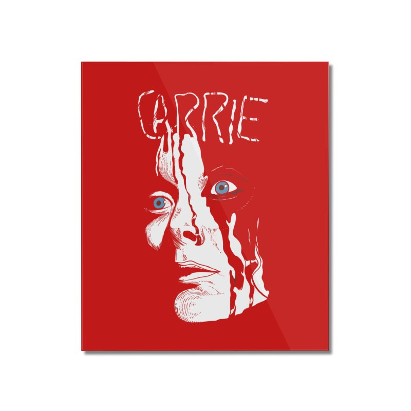 Carrie Home Mounted Acrylic Print by quadrin's Artist Shop