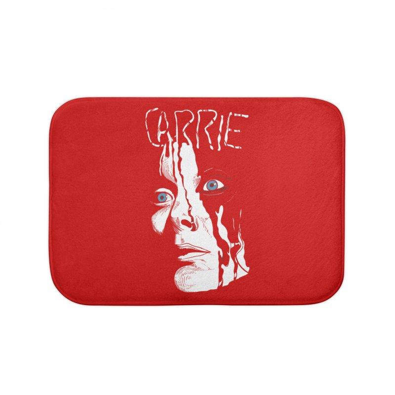 Carrie Home Bath Mat by quadrin's Artist Shop