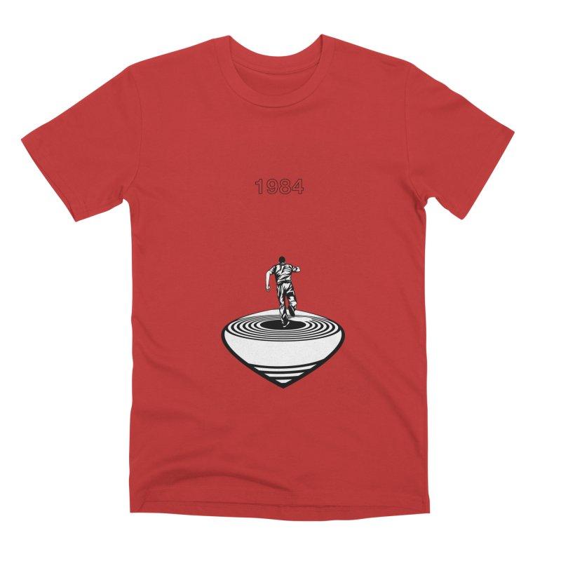1984 Men's Premium T-Shirt by quadrin's Artist Shop