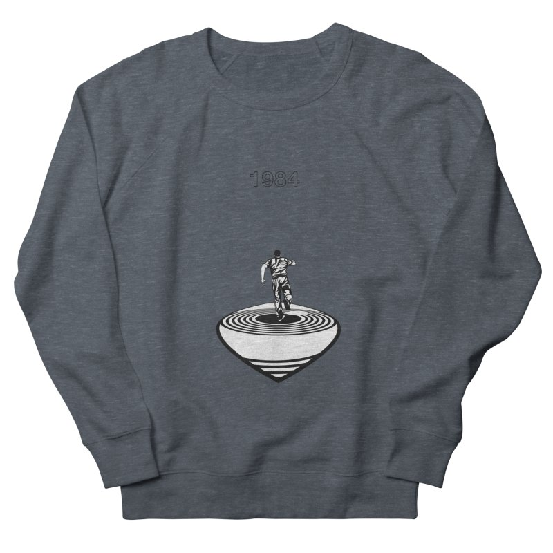 1984 Women's French Terry Sweatshirt by quadrin's Artist Shop