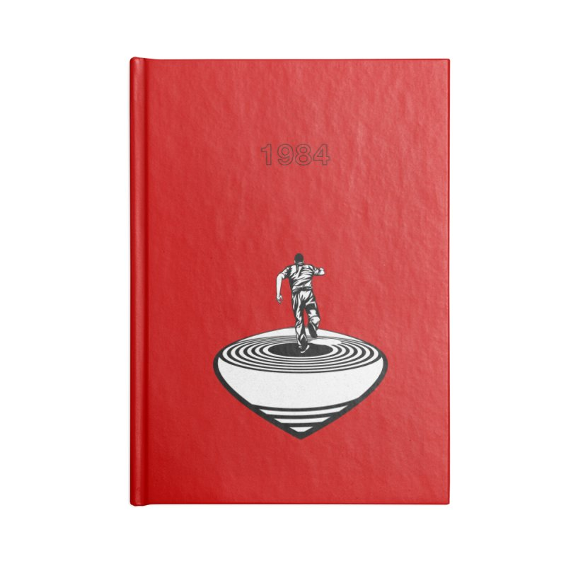 1984 Accessories Lined Journal Notebook by quadrin's Artist Shop