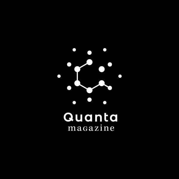 image for Quanta Magazine - Clothing for Men - White Logo