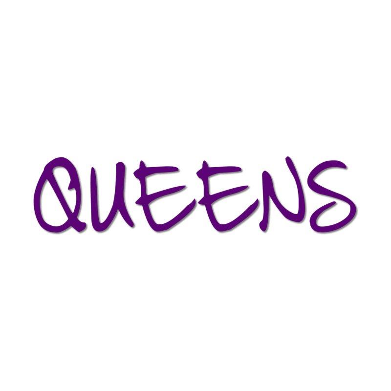 Queens Logo (purple) Accessories Sticker by Shop the Queens Series Store