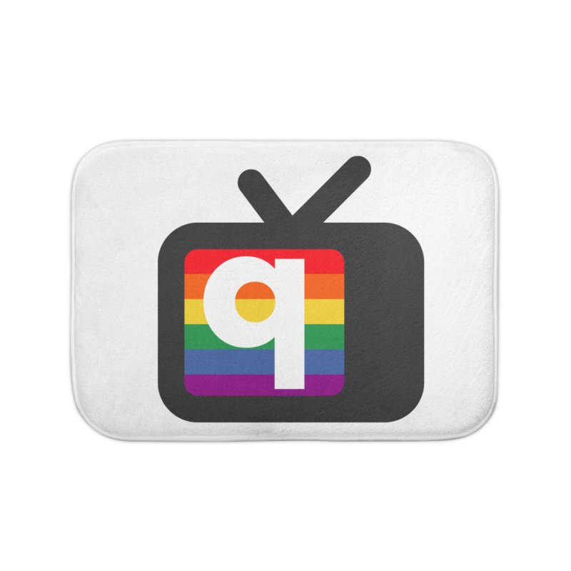 QUEERANTINE Logo Home Bath Mat by The Official QUEERANTINE Shop