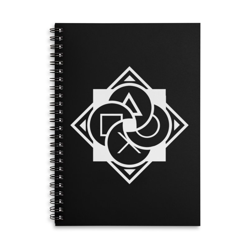Logo - Plain Accessories Lined Spiral Notebook by Queer Women Game Loot
