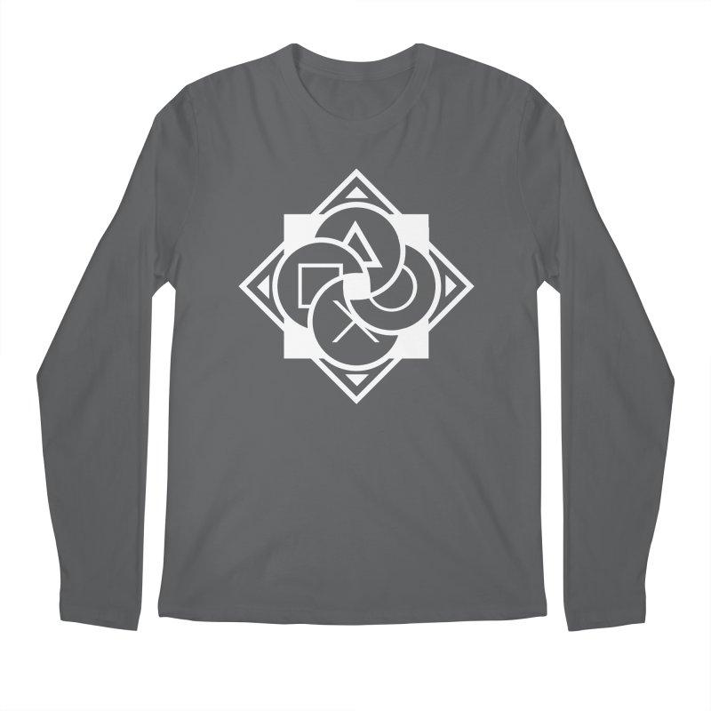 Logo - Plain Men's Longsleeve T-Shirt by Queer Women Game Loot