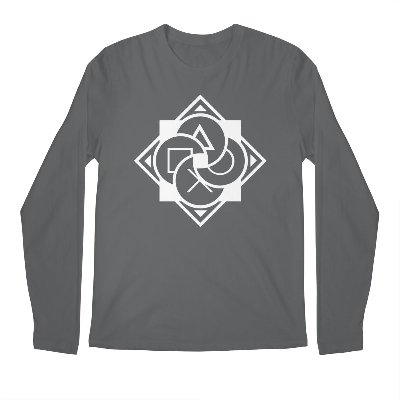 Logo - Plain Men's Longsleeve T-Shirt by Queer Women Game Loot