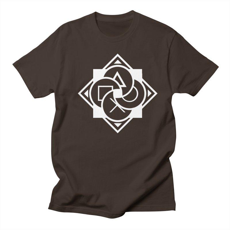 Logo - Plain Men's T-Shirt by Queer Women Game Loot