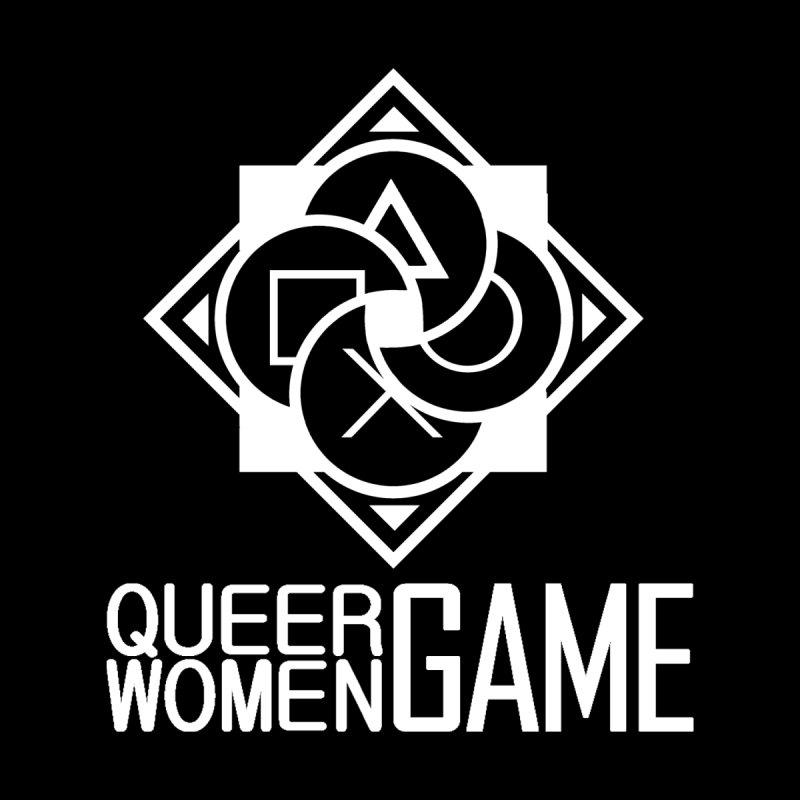 Logo & Text - Plain Women's T-Shirt by Queer Women Game Loot