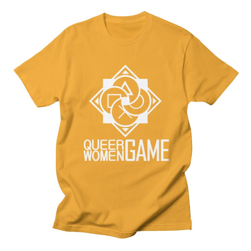 Logo & Text - Plain Women's T-Shirt by Queer Women Game Loot